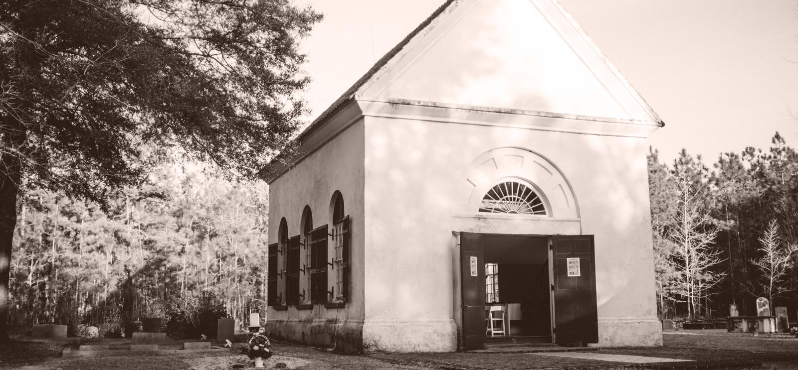 The Old Brick Church : Cainhoy